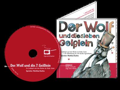 Hörbuch Der Wolf und die 7 Geißlein